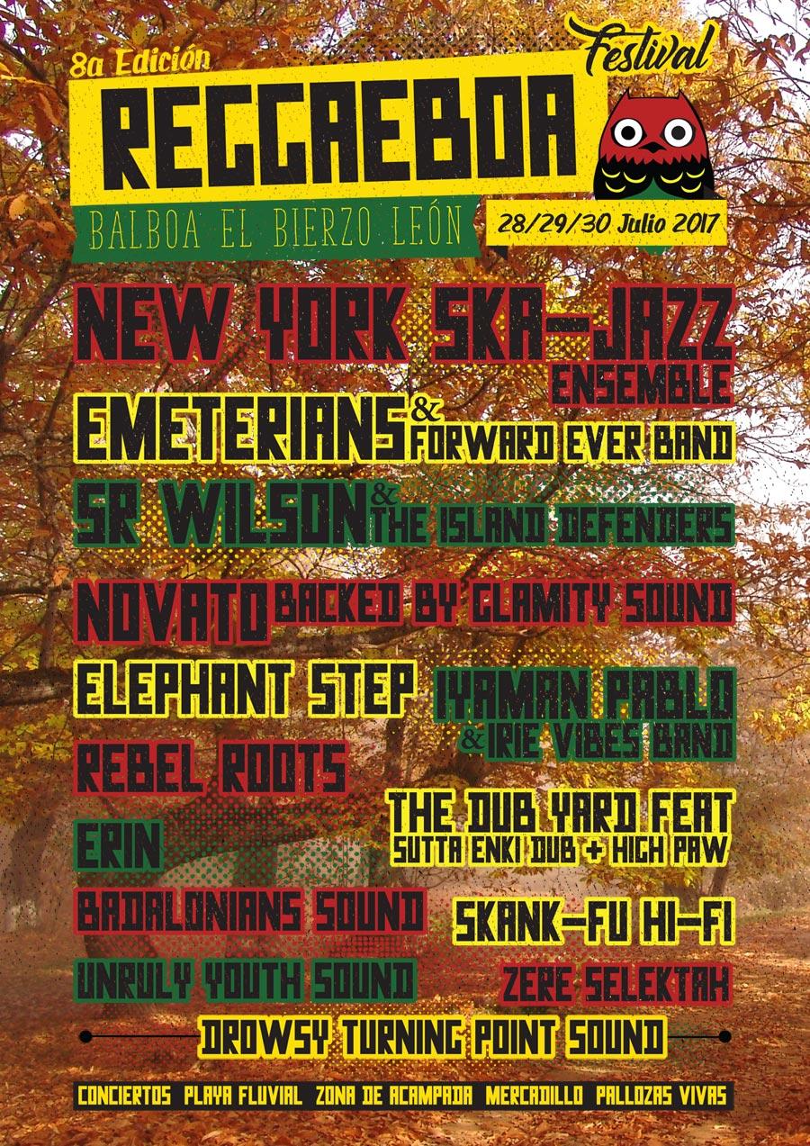 reggaeboa festival 2017