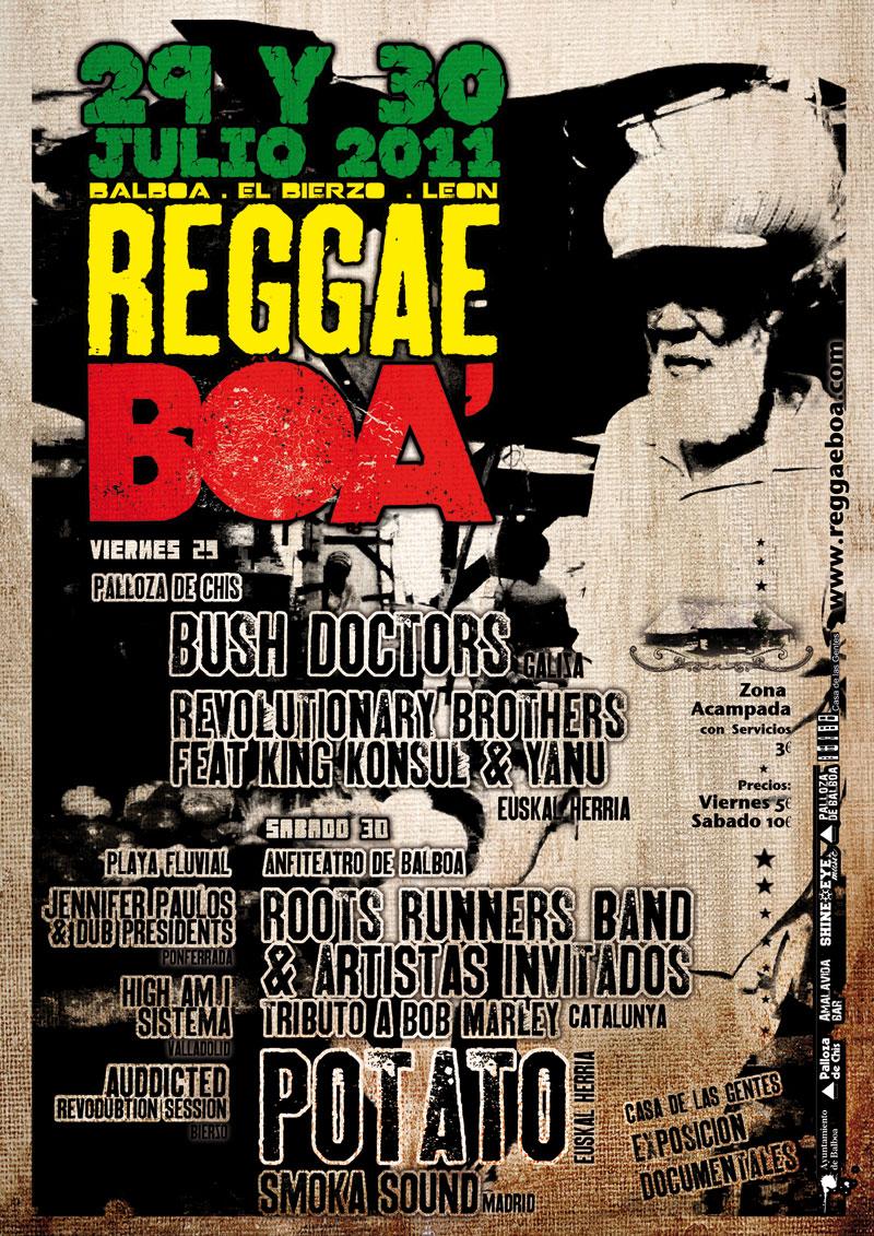 Reggaeboa Cartel 2011